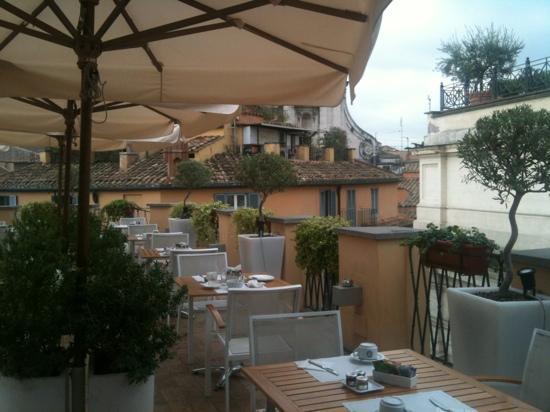 Albergo Cesari: la terrazza