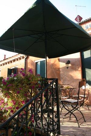 Breakfast Terrace at Domus Orsoni