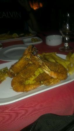 Chez Fatroucha : beignets de crevettes