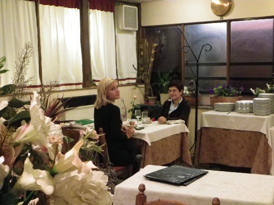 Ristorante Hotel Squarciarelli: la saletta