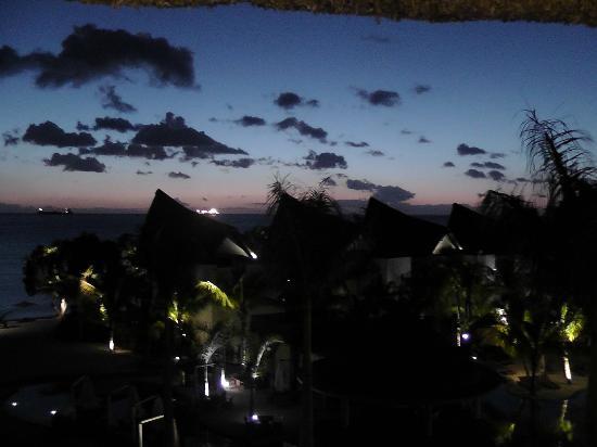 Angsana Balaclava Mauritius: sunset