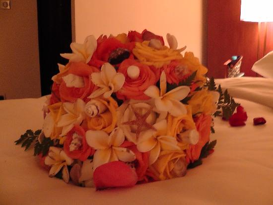 Angsana Balaclava Mauritius: bridal bouquet 