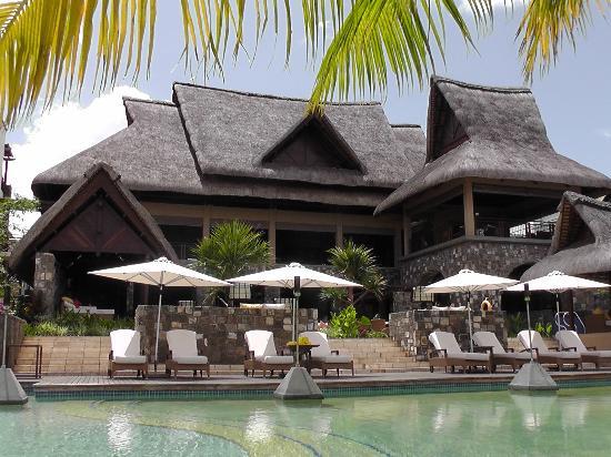 Angsana Balaclava Mauritius: restaurant/pool