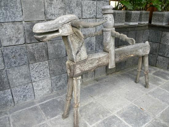 Hotel Puri Bambu: giardino