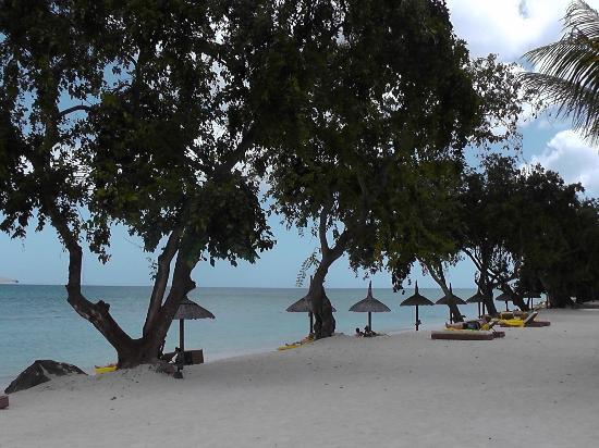 Angsana Balaclava Mauritius: private beach