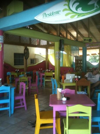 Friends: A Quality French Restaurant in the center of Cabarete, serving breakfast and lunch from 7 to 4pm