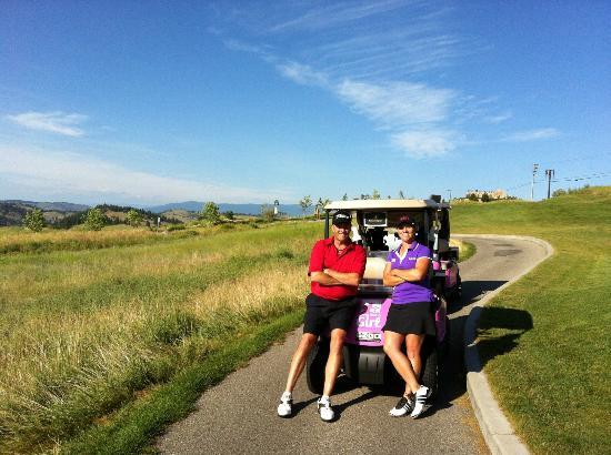 Predator Ridge Golf Resort: AJ Eathorne & I