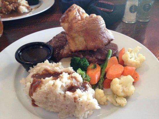 The Grill: Prime rib dinner