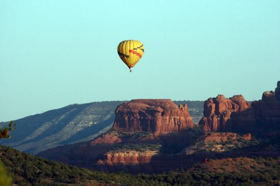Sedona Summit Resort : This was our morning view from our patio