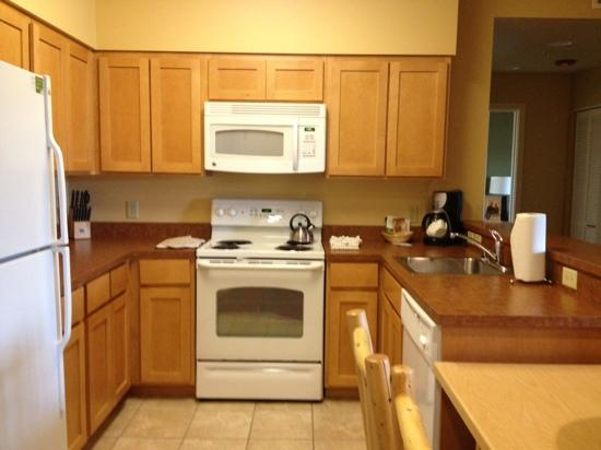 WorldMark West Yellowstone: kitchen