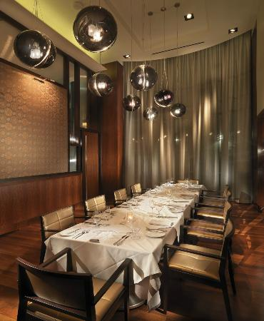 Private dining room picture of luce san francisco tripadvisor - San francisco private dining rooms ...