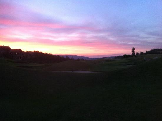 Predator Ridge Resort: Beautiful sunset