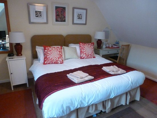 Belleview House: Comfortable bed
