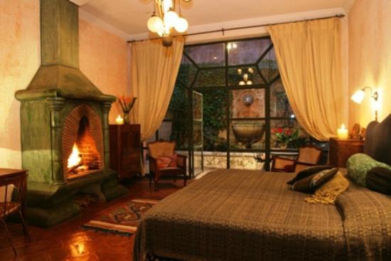 Meson Panza Verde: Esta es la suite en donde nos hospedamos!