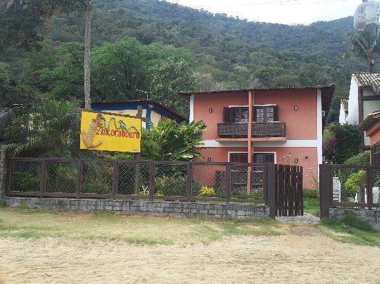 Pousada Ancoradouro Inn : vista desde la playa