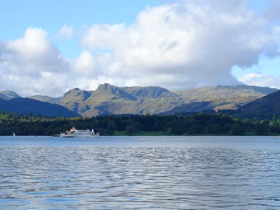 The Ravensworth: A view from the boat in Lake Windermere.