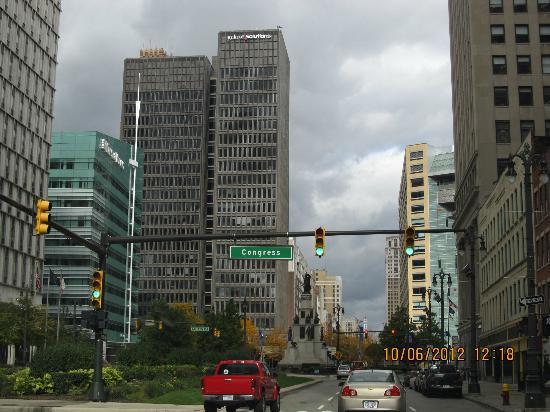 Detroit Downtown: downtown detroit