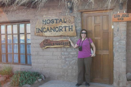 Rey Lagarto Hostel: esta es la entrada al HOSTAL,
