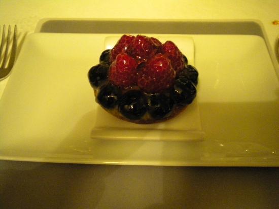 Mantel: Crostatina ai frutti di bosco