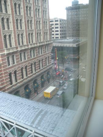 Philadelphia Marriott Downtown: Visuale dalla ns Suite