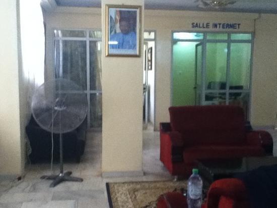 Hotel du Sahel: reception