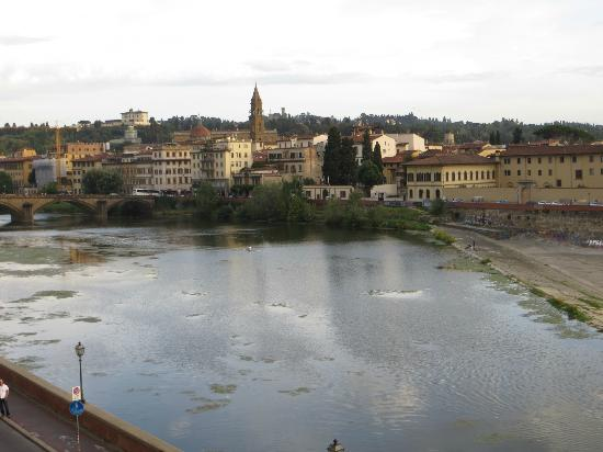 The St. Regis Florence: Arno River from the hotel