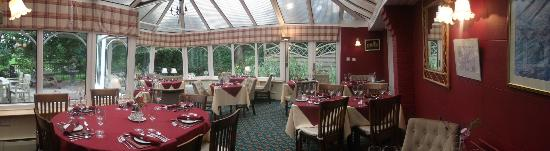 Middle Ruddings Country Inn: The conservatory (dining between 6pm & 9pm everyday) no dogs allowed