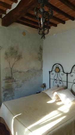 Il Sole del Sodo: camera degli affreschi