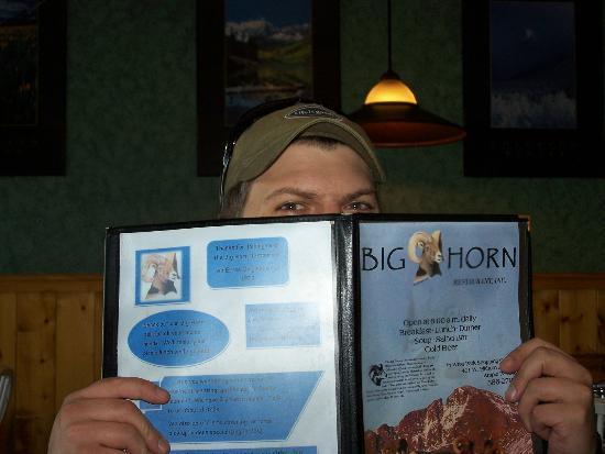 Big Horn Restaurant: breakfast time