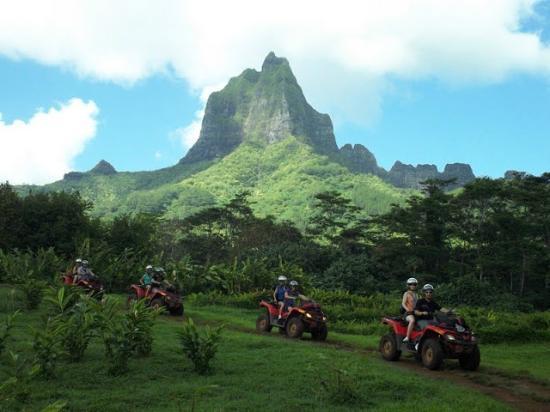 ATV Moorea Tours: quad