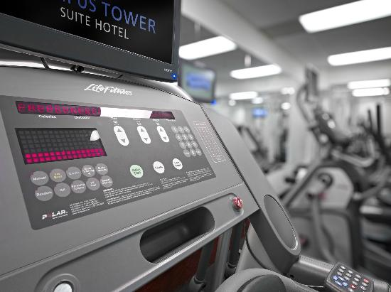 Campus Tower Suite Hotel: Newly Renovated Fitness Centre