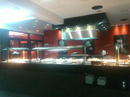 Sirenis Seaview Country Club: Teppanyaki 2