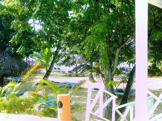 Grand Bahia Principe El Portillo: vue plage