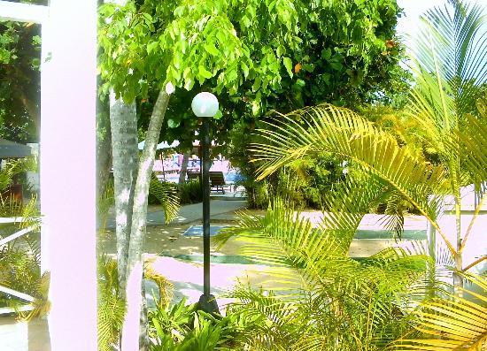 Grand Bahia Principe El Portillo: vue jacuzzi