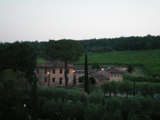 Castel Monastero: from my room