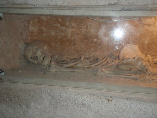 Sousse, Tunisia: skeleton