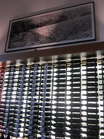 At the tasting bar... Etude Winery
