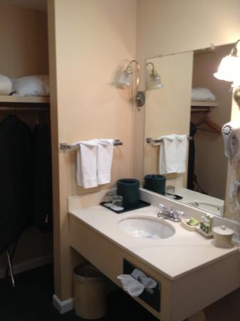 Yankee Inn: Sink area
