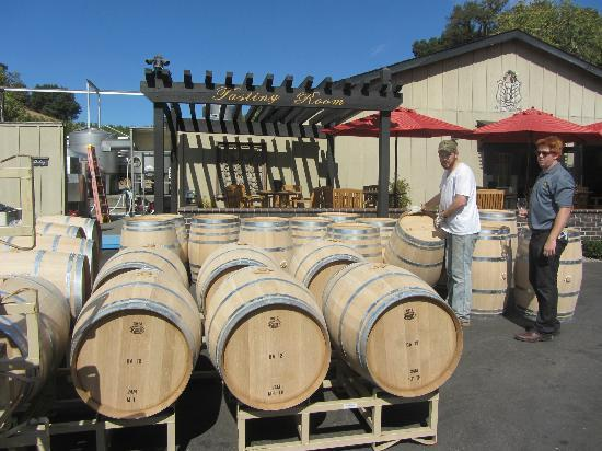 "Baldacci Vineyards: Amazing to see the ""working winery"" at Baldacci"