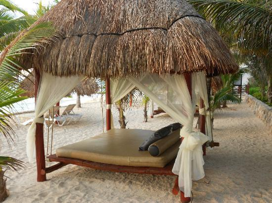 Hidden Beach Resort - Au Naturel Club: beach palapa