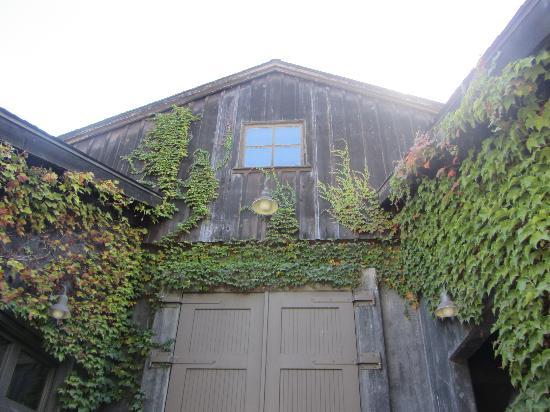 Frog's Leap Winery: Beautiful barn at Frog's Leap