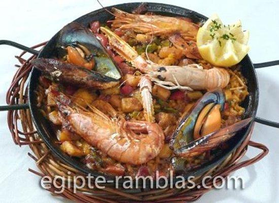 Restaurante Egipte : Paella de Marisco