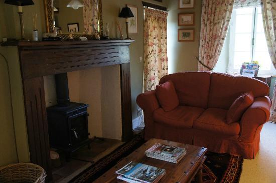 Le Manoir de Hérouville : Living room