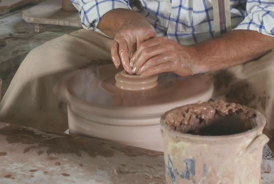 Genesee Country Village & Museum: Potter @ Genesee Village