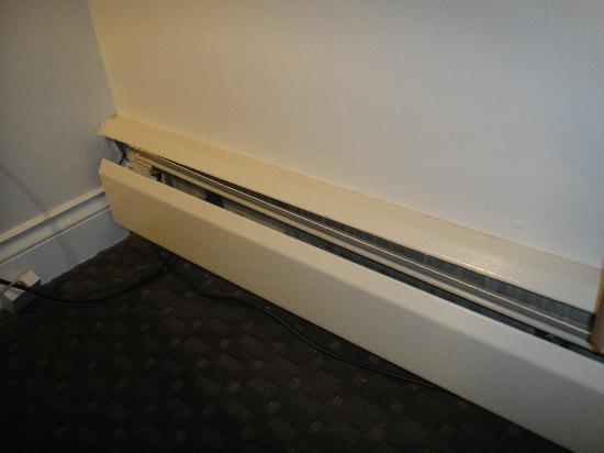Century Plaza Hotel & Spa : Lounge Radiator