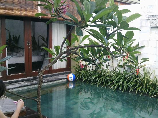 another pool view - Pradha Villas