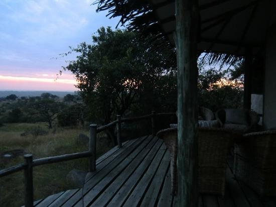 Lamai Serengeti, Nomad Tanzania: Our view - awesome!