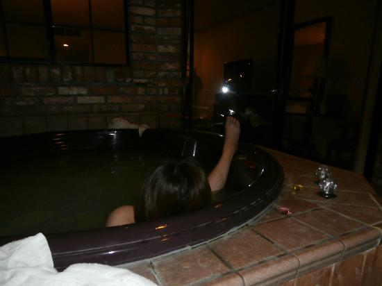 Paso Robles Inn: 露天風呂