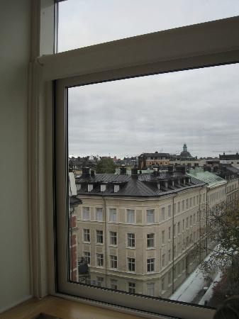 Hotel Tegnerlunden: La vista dalla sala colazione 