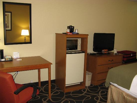Holiday Inn Express Atlanta-Stone Mountain: HIE Stone Mountain king room